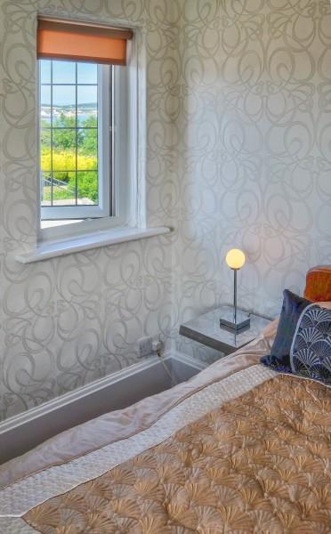 Bedroom 5 view Art Deco House UK