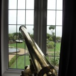 Antique Telescope in the Master Suite