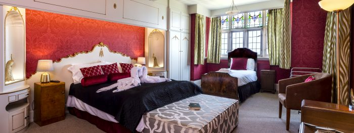 Family Bedroom at Art Deco House