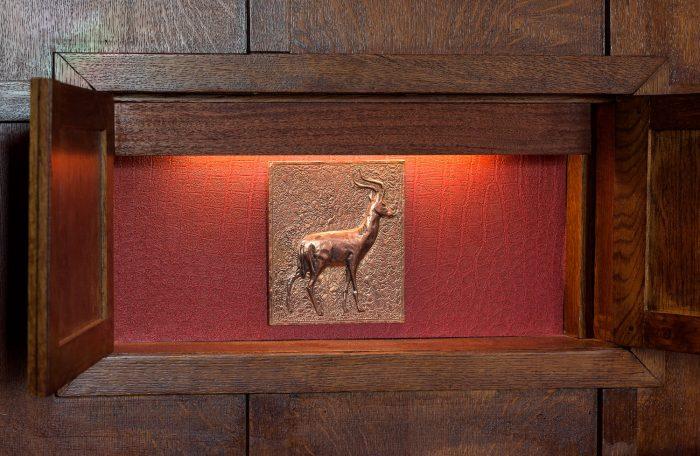 Hidden Deer in the Dining Room