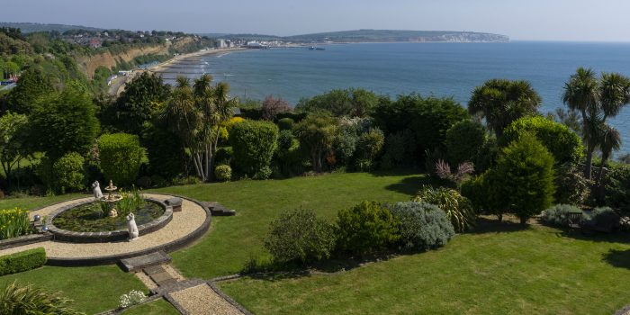 Villa on Isle of Wight view