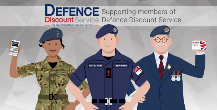 Discount to UK Armed Forces